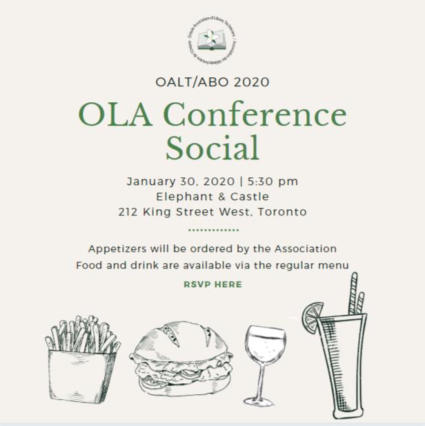 2020 OLA Conference Social