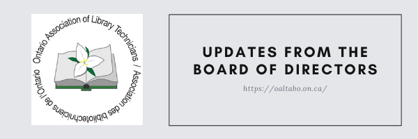 Updates from the Board