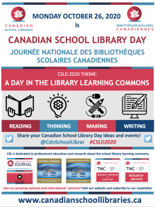 Canadaian School Library Day 2020