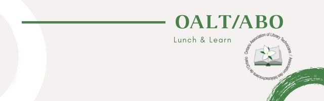 OALT/ABO Lunch and Learn