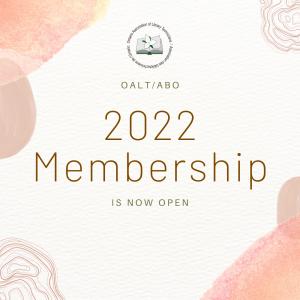 2022 OALT/ABO Membership