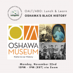 Lunch and Learn : Oshawa's Black History